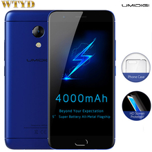 UMIDIGI C2 4GB+64GB Fingerprint Identification 5.0'' 2.5D Arc Screen Android 7.0 MTK6750T Octa Core up to 1.5GHz 4G Dual Sim(China)