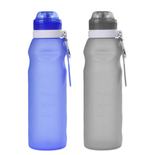 Buy 600ML Portable Creative Collapsible Foldable Silicone Drink Outdoor Sport Travel Bottle Cup Cycling Bike Bicycle Water Bottle for $5.58 in AliExpress store