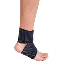 New Sports Safety Ankle Support Pad Protection Ankle Bandage Elastic Brace Guard Support Sports Gym Foot Wrap Protection Brand