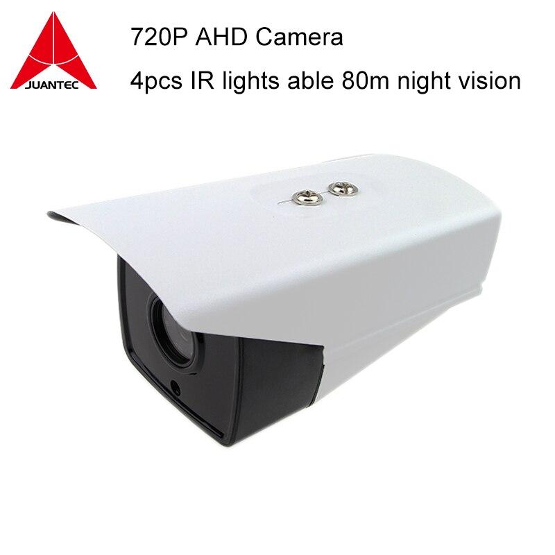720P AHD Camera 4pcs Arrany IR lights Night vision 80m Bullet Waterproof IP <br>
