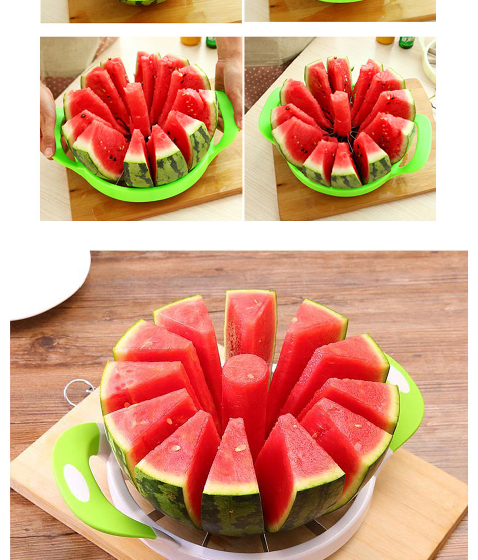 Watermelon Artifact Cut Fruit Split Function Cut Watermelon Melon Slice Cutter Convenient Kitchen Cooking Cutting Tools Cutter (5)