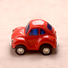 Collection Tinwork Vehicle Toys Red Retro Cars Model Classic Handmade Toys Showcase Decoration Craft(China)
