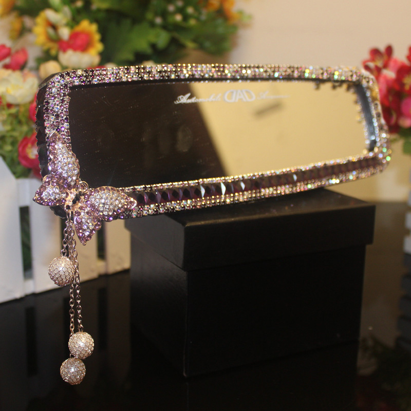 Car-Interior-Mirror-Crystal-Decoration-Diamond-Butterfly-Rearview-Mirror-Bling-for-Girls-Woman-11