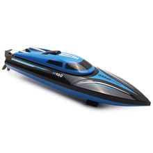 New Arrival Skytech H100 RC Boat 2.4GHz 4 Channel High Speed Racing Remote Control Boat with LCD Screen(China)