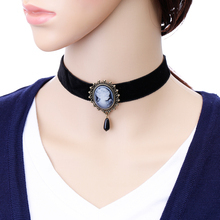 New Hot Gothic Jewelry Retro Lace Necklace & Pendant Women's Accessories Collar Necklace Fake Necklace Necklace TOMTOSH