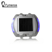 1X Path Driveway Pathway Solar Powered Deck Light Warning Light LED Security Lights 500M Visible Distance Solar Traffic lights(China)