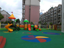 Exported to Bolivia Outdoor Playground Set CE Approved Plaza De Juegos a21106