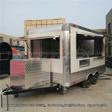 2017 CE Approved New designl Outdoor Mobile Food Trailer/ Street Mobile Food Cart/ China Factory Mobile Food Truck(China)