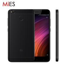 "Original Xiaomi Redmi 4X 4 X 2GB RAM 16GB ROM Mobile Phone Snapdragon 435 Octa Core 5.0"" 4100mAh 13.0MP Official Global Rom"