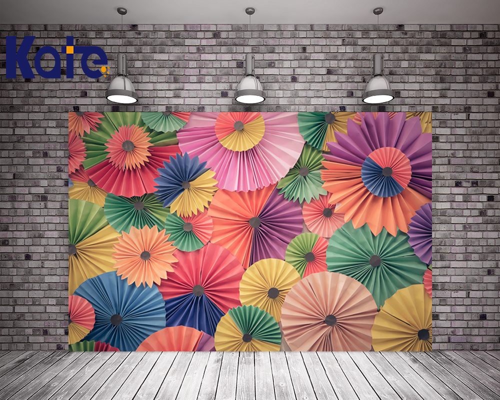 Kate Flower Photography Backdrop 5x7ft Chinese Paper-Cut Studio Background For Children Backgrounds Photo Studio Cottonbackdrop<br>
