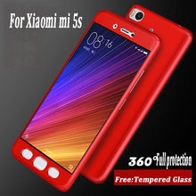 "Buy Xiaomi mi 5s Case 5.15"" Luxury 360 Degree Protection Mobile Phone Case Xiaomi mi5s Cover cases Coque freeTempered glass for $4.56 in AliExpress store"