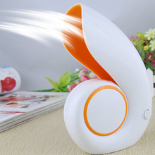 Hot USB Office Portable Handheld Mini Air Conditioner Bladeless Fan Desktop Shell No Leaf Air Fan(China)