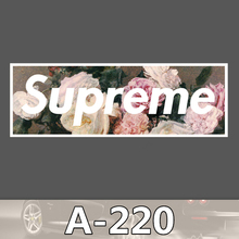 Bevle A-220 Supreme Waterproof DIY Stickers For Laptop Luggage Fridge Skateboard Car Graffiti Cartoon Stickers