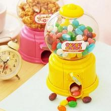 Korean Style Mini Twist Candy Machine Funny Plastic Candy Machine Toy  Mini Money Pot Twist Candy Machine Best Gift for Kids