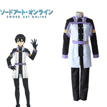 Kirigaya Kazuto Cosplay SAO Sword Art Online Movie Japanese Anime Costume Popular Clothing Suits Costume For Adults(China)