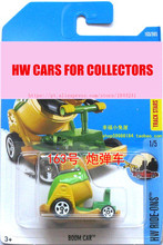 New Arrivals 2017 Hot Wheels 1:64 Yellow Boom Car Metal Diecast Cars Collection Kids Toys Vehicle For Children Models(China)