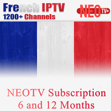 NEOPLUS Pro French Arabic Belgium IPTV Subscription for Android Smart TV Box as XIAOMI H96 X96 X92 MAG254 MAG250 Samsung SmartTV(China)