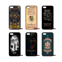 Fantastic Beasts Where Find Them For iPod Touch iPhone 4 4S 5 5S 5C SE 6 6S 7 Plus Samung Galaxy A3 A5 J3 J5 J7 2016 2017 Case(China)