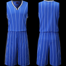 Blank Basketball Jersey Men Sports Suit Training Shirt and Shorts Set Team Uniform Running Clothe throwback jerseys magic jersey