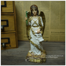 Free Shipping Ave Maria: Angel Singer Resin Ornaments Decorations Lucky Christmas Gift Home Crafts