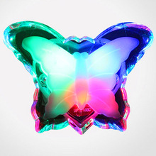 Butterfly Night Light Energy Saving Lovely Color RGB Romantic Wall Light Night Lamp Decoration Bulb For Baby Bedroom EU Plug