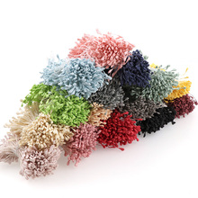 300pcs 3mm Mini Stamen Matte Handmade Artificial Flowers For Wedding Party Home Decoration DIY Scrapbook Cake Craft Accessories(China)