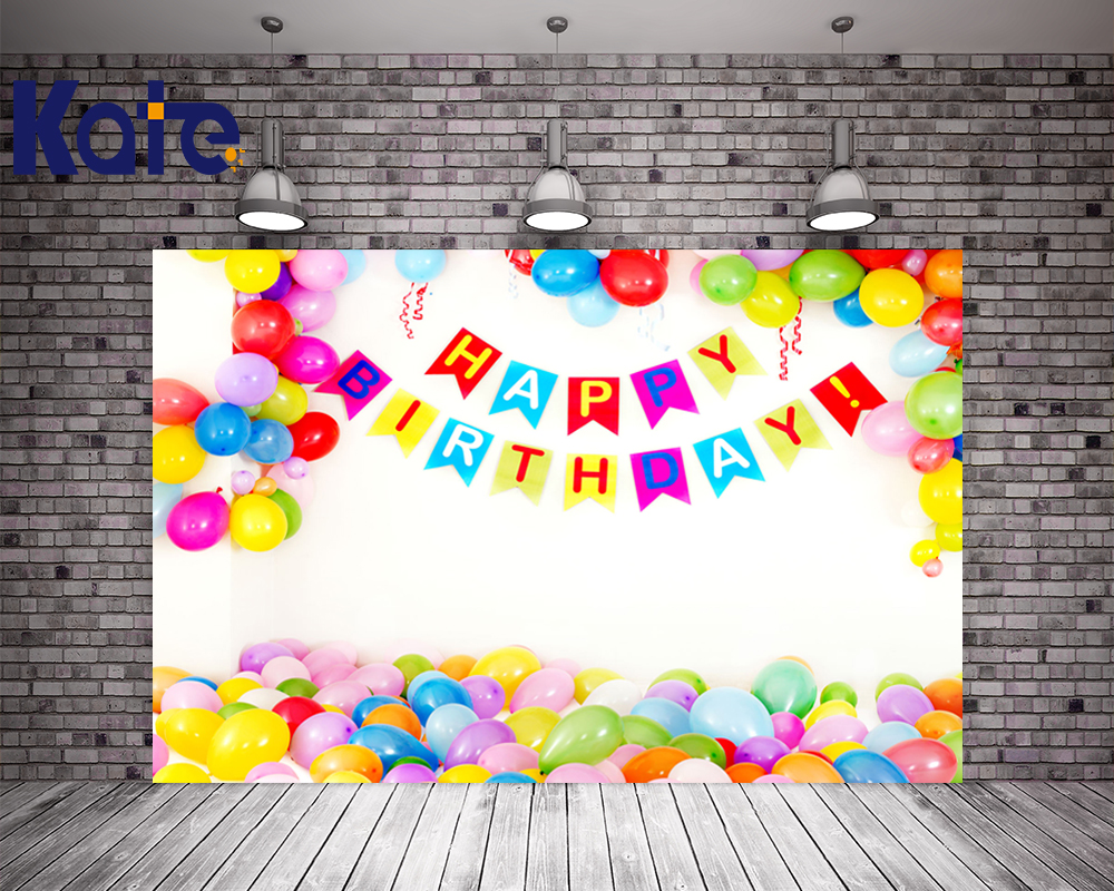 5x7FT Kate Children Photography Backdrops Birthday Balloons Photography Backdrop Newborn Photocall Personalizados Backgrounds<br>