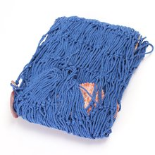 LHBL Table runner fishing net with shell decorative Mediterranean 150cmX200cm blue Marine