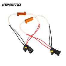 Vehemo 2Pcs 9006 LED Decoder Electric Resistance Filter Car Fog Light Lamp Accessories(China)