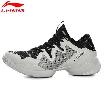 Li-Ning Women's Quick Training Shoes Cushion Flexible Dance Shoes Breathable Sneakers Comfort Sports Shoes AFHM026 XYA038