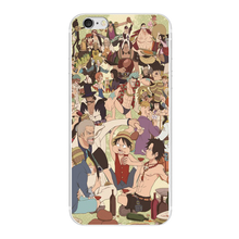 One Piece Characters Monkey D Luffy design cover phone cases For Apple iphone 5S 5C 5 4S 6 6S 7 plus 6plus 7plus