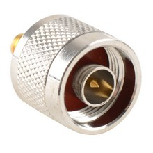 1pc Adapter N Plug Male Nickel Plating To SMA Female Gold Plating Jack RF Connector Straight