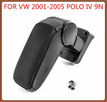 Free Shipping FOR VW 2001-2005 POLO IV 9N Car ARMREST,Car Interior Accessories Auto Parts Center Armrest Console Box Arm Rest