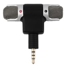 New Portable Mini Mic Digital Stereo Microphone for Recorder PC Mobile Phone Wholesale