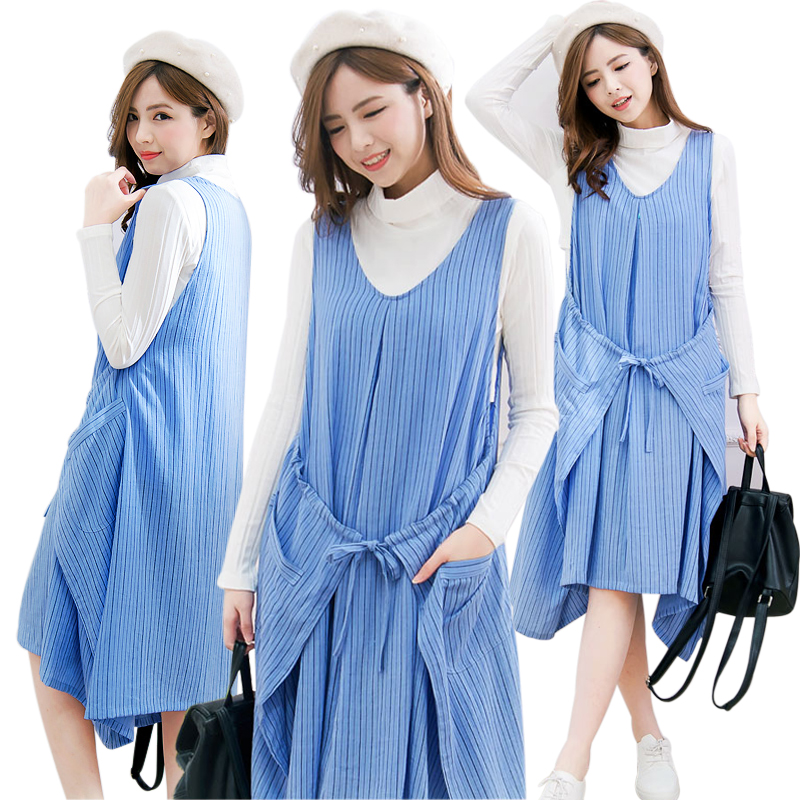 MamaLove Fashion Striped Maternity Clothes Breastfeeding Dresses for Pregnant Women Casual Nursing Clothing Maternity Dress<br><br>Aliexpress