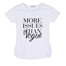 Summer Letter Style Baby Girl Short Sleeve Black/White T-shirt Tops Toddler Kid Casual Printed Shirt Dress 2-7Y Shipping From US(China)