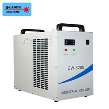 220V CW-5200AG Laser Water Chiller for Cooling A Single 150W or Dual 100W CO2 laser tubes