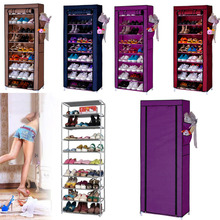 Homdox hoe Cabinet Shoes Racks Storage Large Capacity Home Furniture Diy Simple 9 Layers Domestic Delivery #10-20