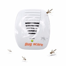 3W 50/60 HZ Ultrasonic Electronic Indoor Mosquito Pest Repeller Anti Mosquito Trap Chargeable Pest Fly Killer Reject