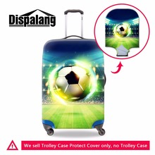 Dispalang Footbally Luggage Cover for 18-30 inch World Cup Trolley Case Cover Zippered Waterproof Luggage Protectors Rain covers