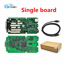 Green relays Single Board PCB new vci With bluetooth 2015 r3 version on cd with carton box TCS CDP PRO ship free