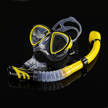 Professional Diving masks Swimming Fins with snorkel tube adult scuba Swim mask monofin long Snorkeling Diving Flippers shoes