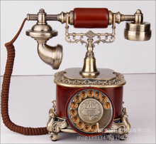 Factory direct rotary dial telephone code retro antique telephone landline telephone incoming European(China)