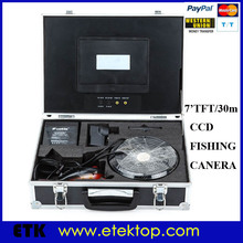 Underwater Camera Fish CCD Waterproof Fishing Video Camera With Monitor 30m Cable