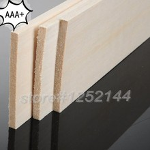 AAA+ Balsa Wood Sheet ply 200mmX100mmX3mm 10 pcs/lot super quality for airplane/boat model DIY free shipping