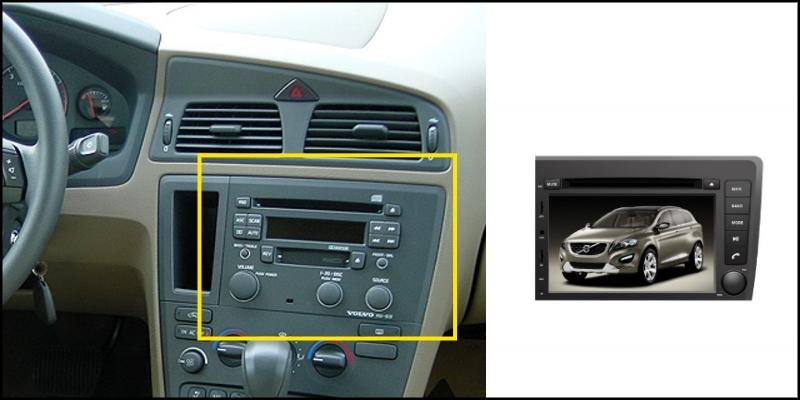 For VOLVO S60 V70 2001~2008 LiisLee Car Multimedia TV DVD GPS Audio Hi-Fi Radio Stereo Original Style Navigation NAVI 2