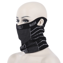 6 Different Wearing Patterns Masks Warm And Cold Resistant Sports Ski Cycling  Half Face Neck Mask  Breathable Comfortable Mask
