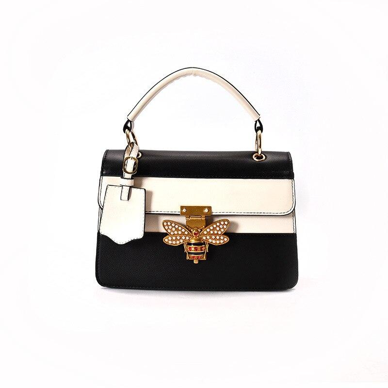 2017 new explosion and the wind in summer bees hit color Handbag Shoulder Bag Fashion Ladies handbag bag WOMEN BAG<br>