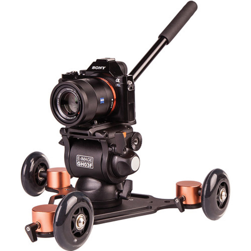 E-IMAGE GH03F 5KG bear camera video photo hydraulichead fluid head Panoramic for tripod monopod DSLR Camcorder shooting 04