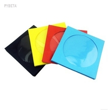 100pcs-12.5*12.5cm Colorful paper Disc CD Sleeve DVD Cover Packaging bag Envelopes type Pack bags wedding party favor(China)